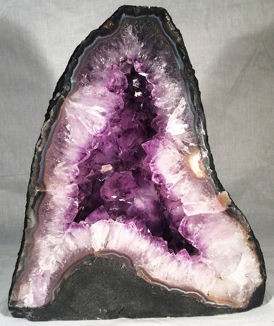 "GEMS ROCK® Amethyst Crystal Tower Cathedral #55A"" - 9"" high - dinosaursrocksuperstore"