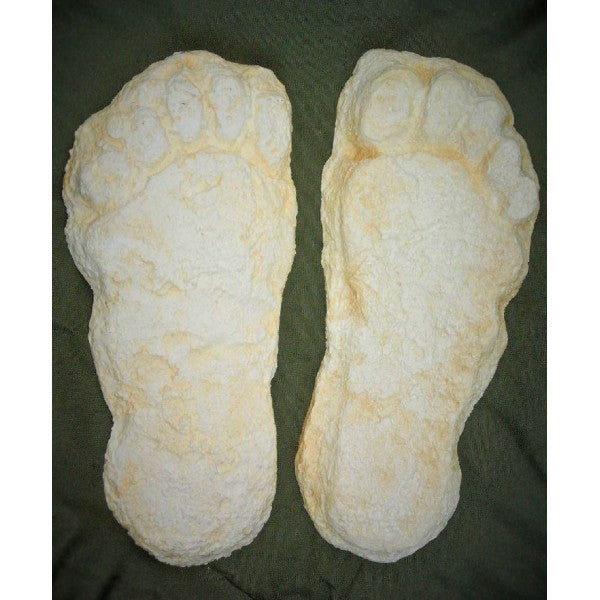 Yeti Bigfoot Single Footprint Left - dinosaursrocksuperstore