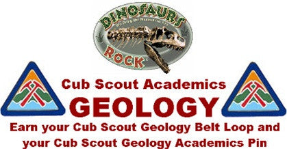 Scout Geology Academic Pin Kit - dinosaursrocksuperstore