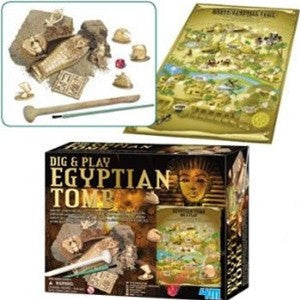Dig and Play Egyptian Tomb Archaeology Dig Kit - dinosaursrocksuperstore