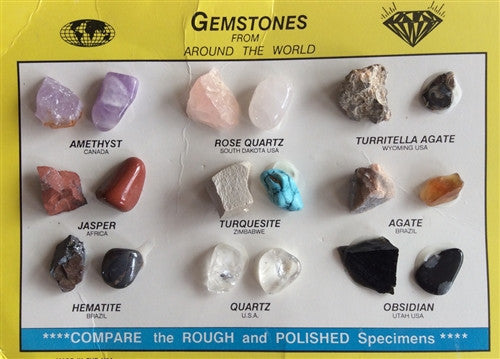 Gemstone Collection - dinosaursrocksuperstore