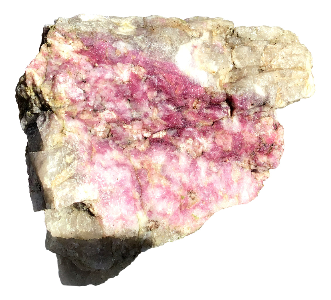 "Watermelon Tourmaline Crystal Mineral Display Specimen #14 - 8""x6""x5"" - dinosaursrocksuperstore"