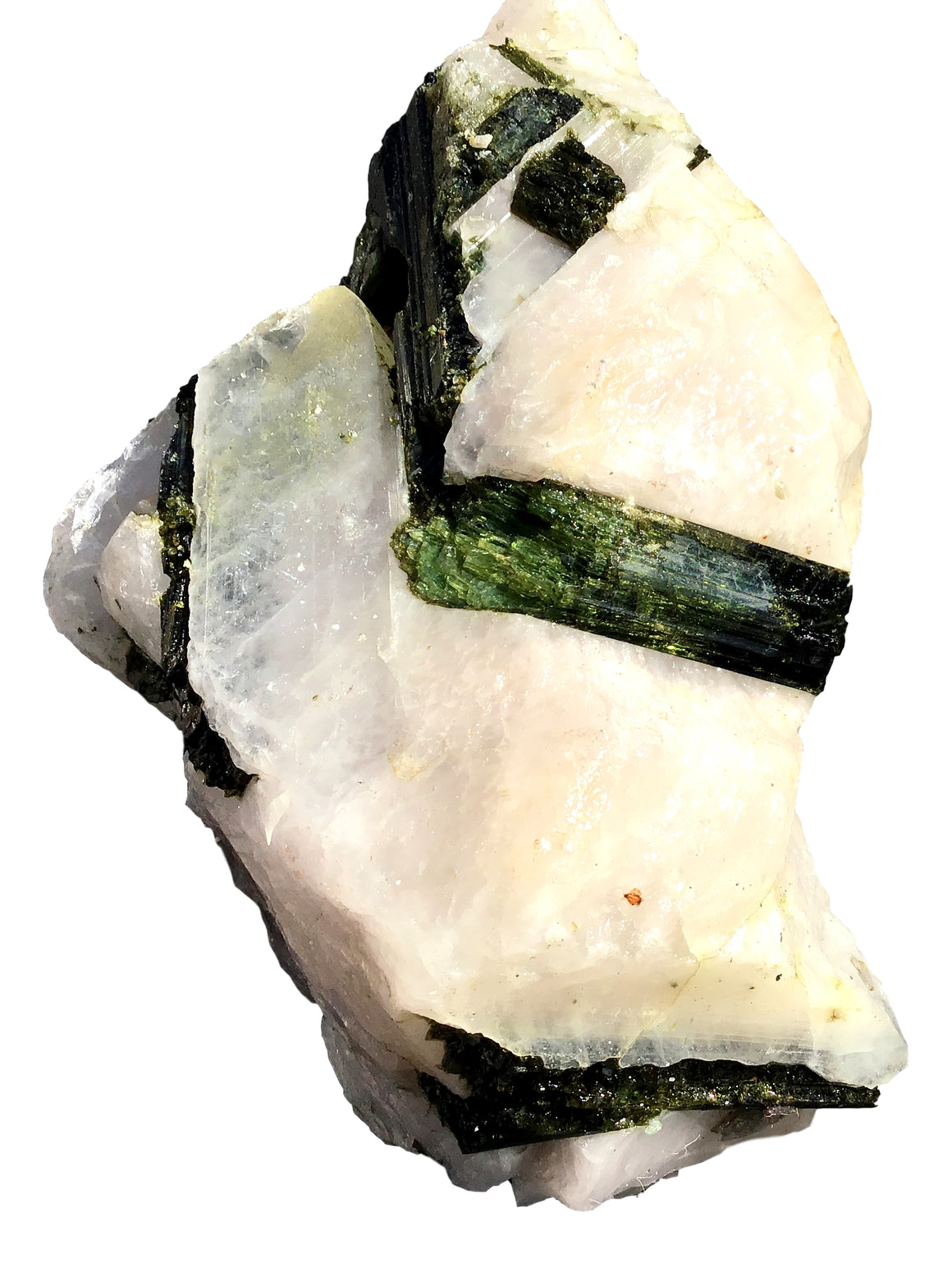"Watermelon Tourmaline Crystal Mineral Display Specimen #17 - 6.5"" x 4"" x 2.5"" - dinosaursrocksuperstore"