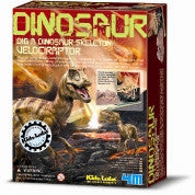 Kidz Lab Velociraptor Excavation Kit - dinosaursrocksuperstore