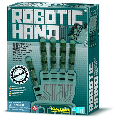 Robotic Hand Kit by 4M - dinosaursrocksuperstore