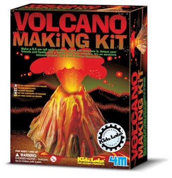 Volcano Making Kit - dinosaursrocksuperstore