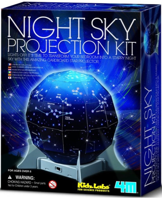 Kids Labs Night Sky Projection Kit - dinosaursrocksuperstore