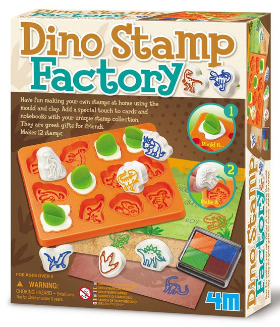 Dino Stamp Factory - dinosaursrocksuperstore