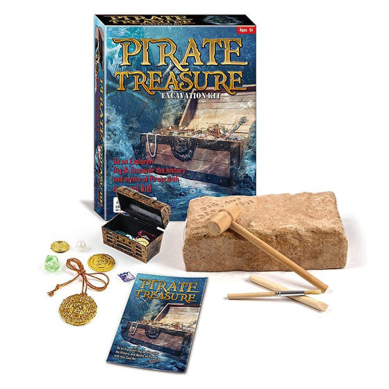 Pirate Treasure Excavation Kit - dinosaursrocksuperstore