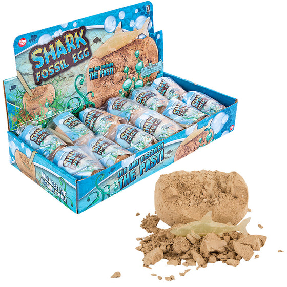 "Dig and Discover Mini Shark Excavation Kit - 3"" x 3"" - dinosaursrocksuperstore"