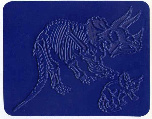 Dinosaur and Fossil Rubbing Plates - set of 12! - dinosaursrocksuperstore
