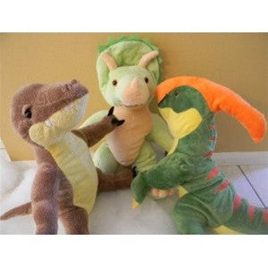 "Stuff A Dino (like Build A Bear) Kit - set of 3 15"" Dinosaurs - dinosaursrocksuperstore"