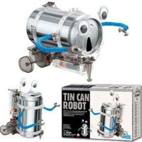 Earth Day! Tin Can Robot Kit - dinosaursrocksuperstore