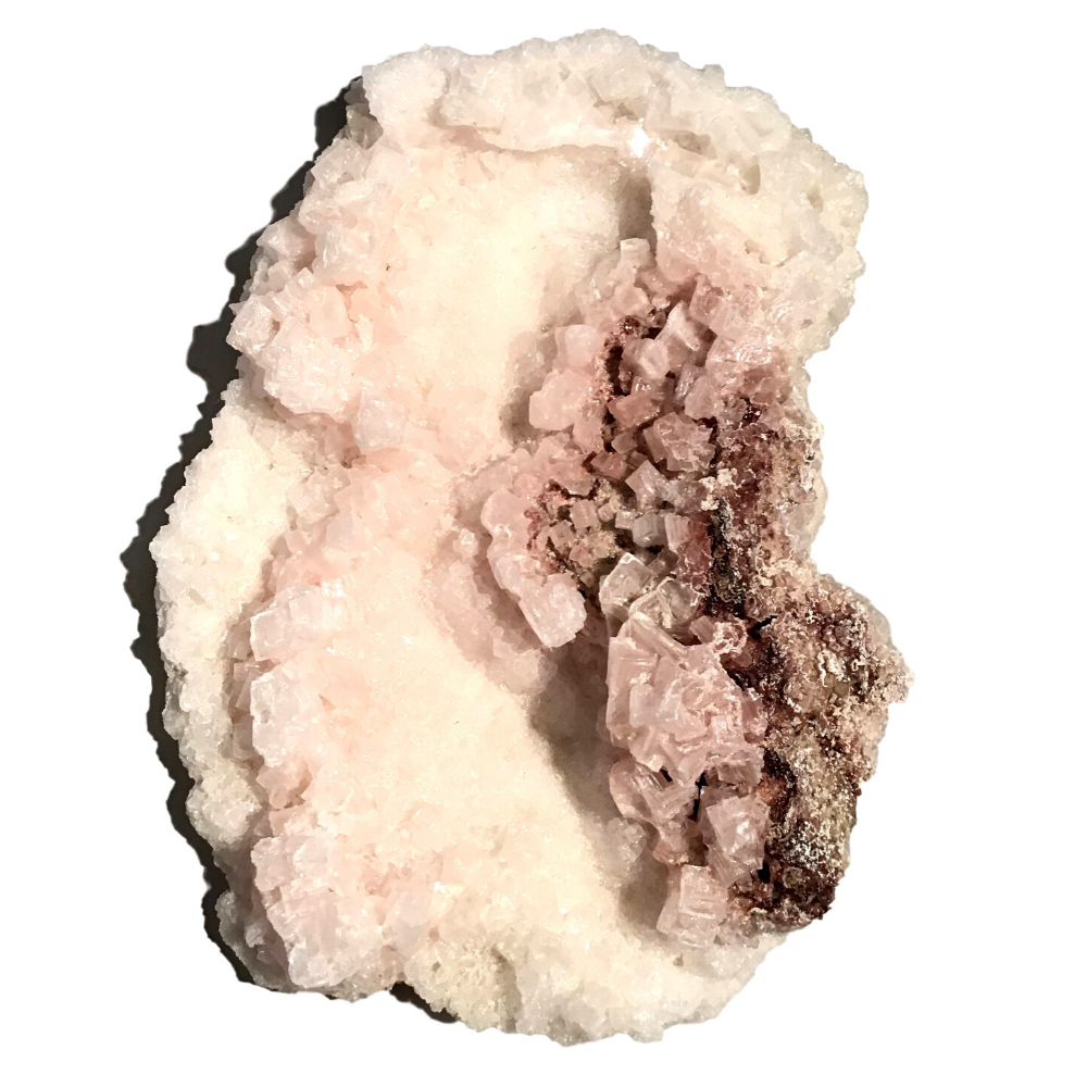 "Genuine Pink Halite (Salt) Crystal - 3.5"" x 1"" x 2"" - #H"