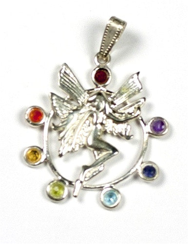 Chakra Fairy Pendant - gift packaged - dinosaursrocksuperstore