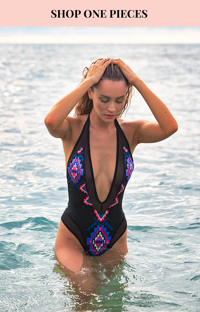 Shop our one piece swimsuits, perfect pool party style