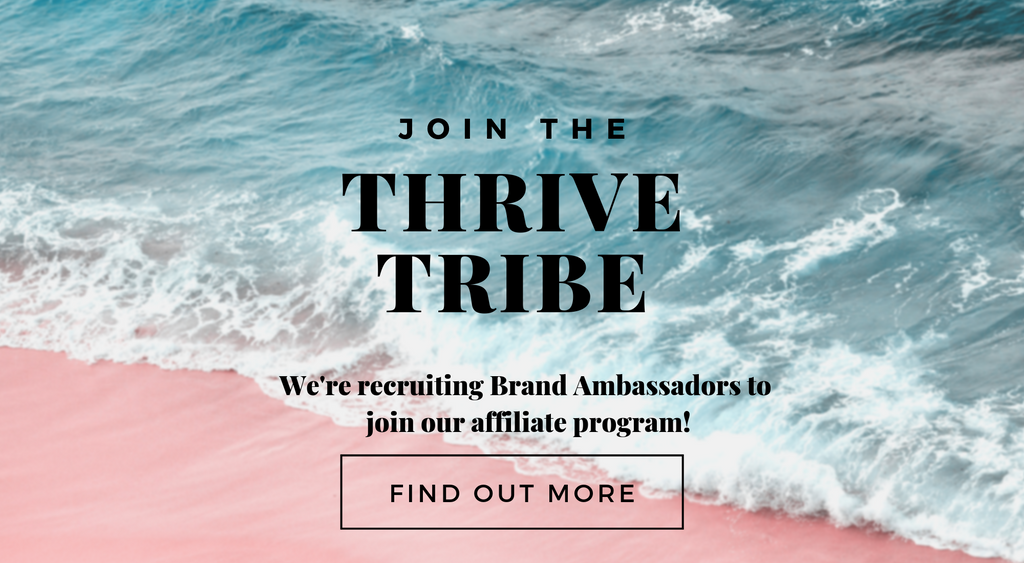 THRIVE SWIMWEAR AFFILIATE PROGRAM become a brand ambassador earn commission