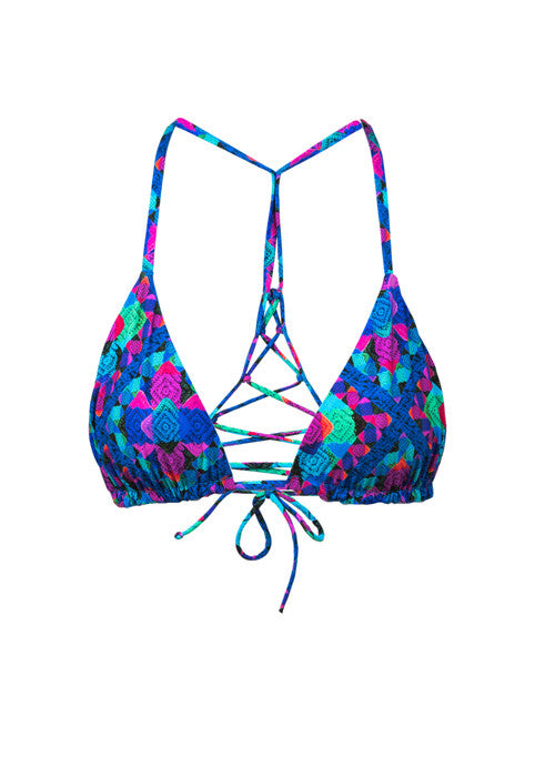 Iris Mix' N 'Match Triangle Bikini Top - Thrive Swimwear