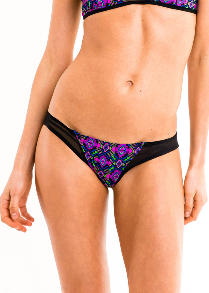 Astrea Mesh Bikini Bottoms - Thrive Swimwear