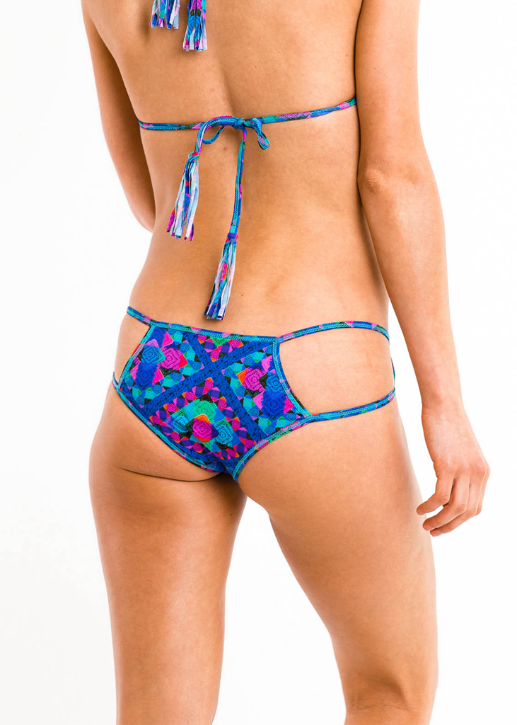 Iris Mix' N 'Match Cutout Bikini Bottom - Thrive Swimwear