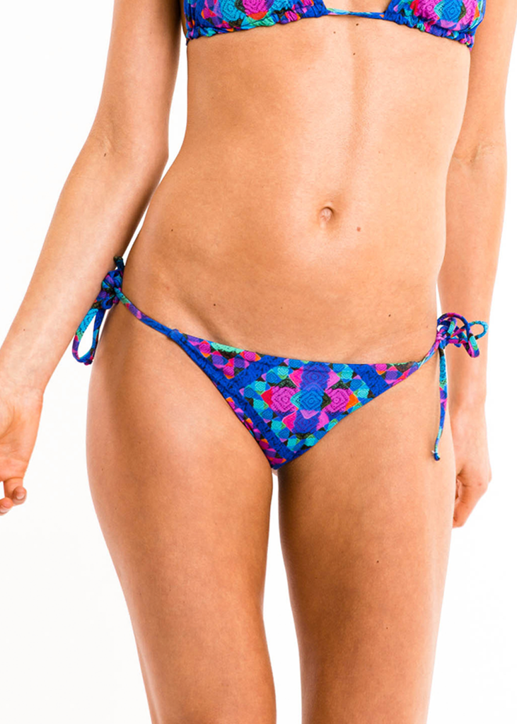 Iris Mix' N 'Match Tie Side Bikini Bottoms - Thrive Swimwear