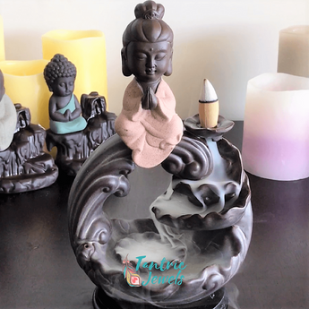 Buddha Circle of Life Incense Burner