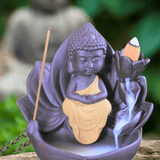 Lotus Buddha Backflow Incense Burner