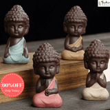 Little Buddha Meditation Statues