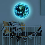 Luminous Earth Glow in the Dark Wall Sticker