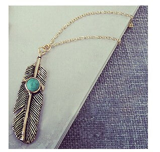 Hippie Feather Pendant