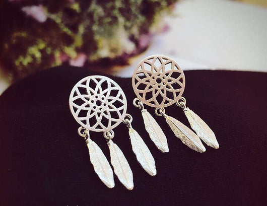 Dreamcatcher Stud Earring