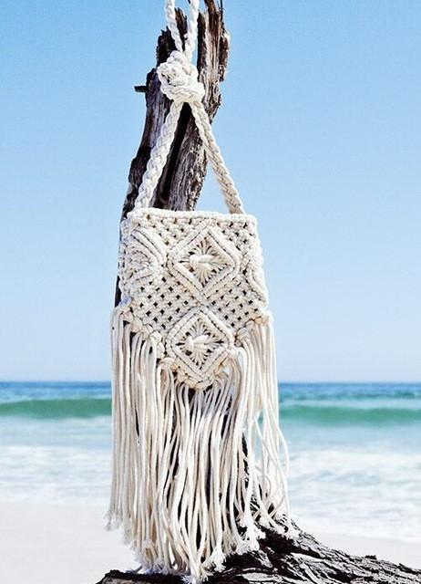 Crochet Crossbody Bag