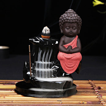 Buddha Drifti Backflow Incense Burner