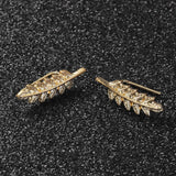 Fern Leaf Stud Earring