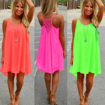 Beach Rainbow Dress