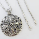 Tibetan Silver Necklace - TantricJewels