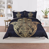 Hamsa Hand Duvet Cover With Pillowcase
