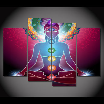 Chakras Canvas Wall Art