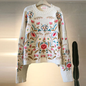 Flower Power Sweater