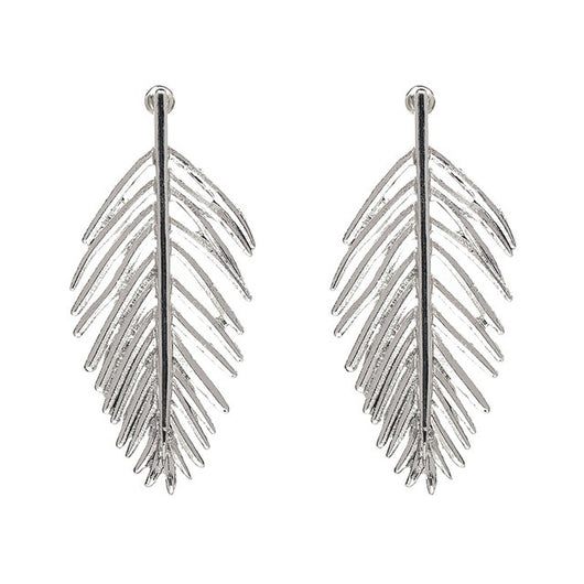 Chic Filigree Leaf Earrings