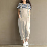 Vintage Sleeveless Jumpsuit
