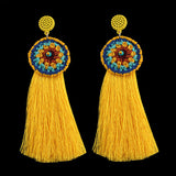 Tassel Flower Earrings
