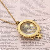 Vintage Magnifying Glass Pendant