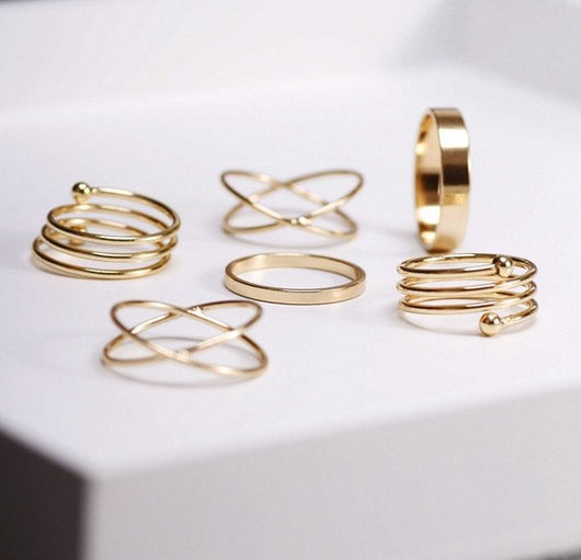 Sophie Stacker Rings