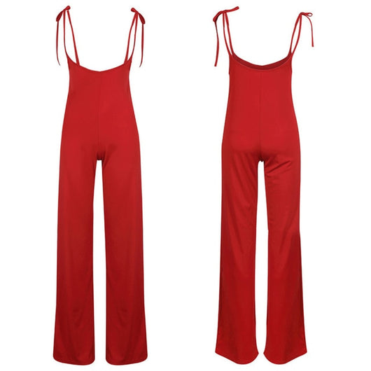 High Waist Bandage Jumpsuit