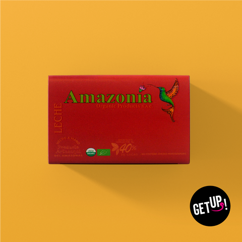Amazonia Leche 40% Cacao - GET UP! Delicious Life