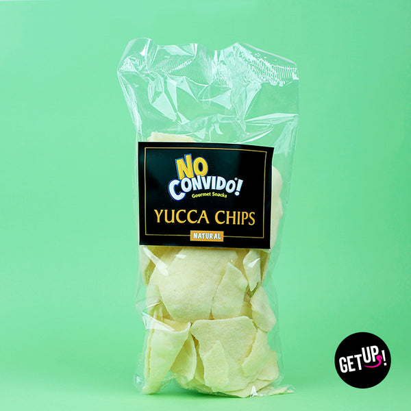 Hojuelas de Yuca Natural- No Convido - GET UP! Delicious Life