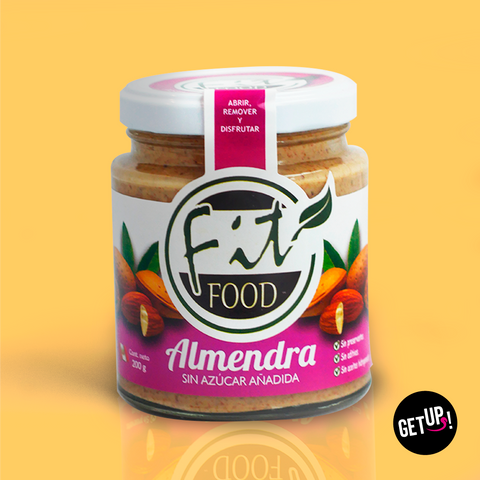Fit food Almendras sin Azucar - GET UP! Delicious Life