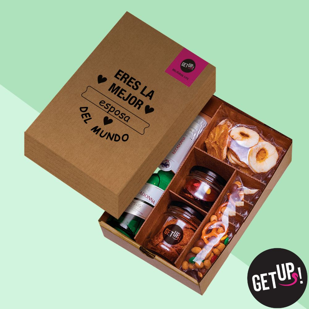 Mini Fancy Box getUP!, Snacks Saludable, Box de Regalo, Delicatessen Gourmet, Regalos Delivery, Comida Sana, Lima, Perú, Delivery Lima