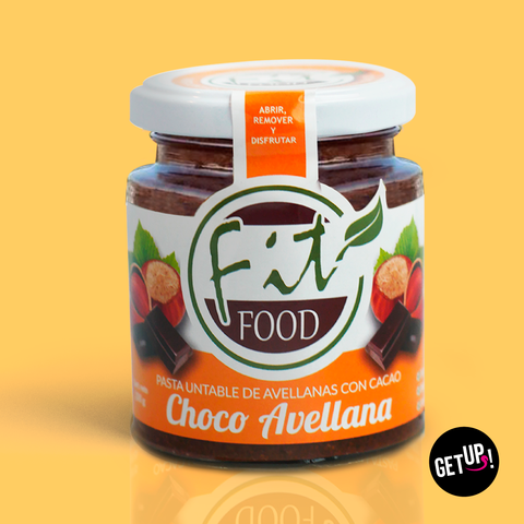Fit food Choco Avellana - GET UP! Delicious Life